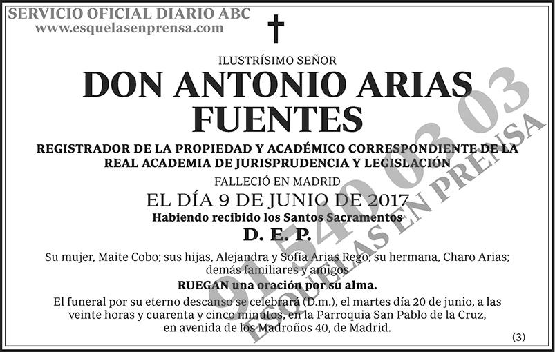 Antonio Arias Fuentes